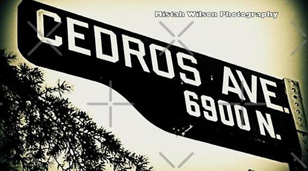 Cedros Avenue, SFV, Van Nuys, California by Mistah Wilson
