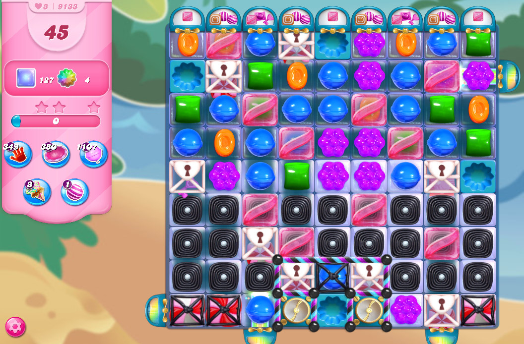 Candy Crush Saga level 9133