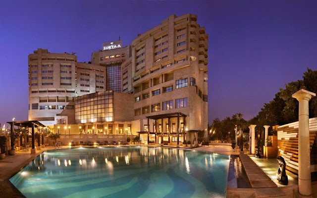The Suryaa Hotel New Delhi promises a lavishing stay for its each guest.
