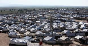 al-Hol camp in Syria