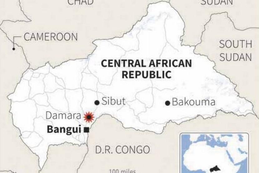 Kerusuhan di Afrika Tengah, Ribuan Umat Muslim Mengungsi ke Gereja