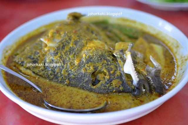 Fish-Head-Curry-Restoran-Bai-Her-Taman-Molek-Johor-百合小菜馆