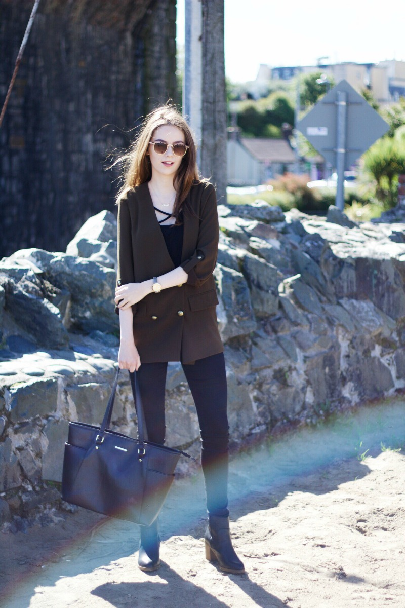 Autumn blazer outfit post