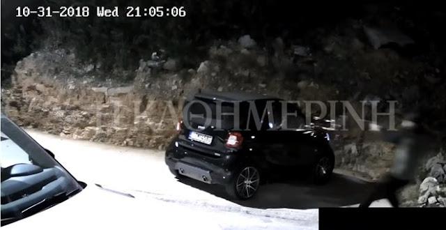 Βίντεο-ντοκουμέντο: Καρέ-καρέ η εν ψυχρώ δολοφονία του Γ. Μακρή στη Βούλα με πιστόλι με σιγαστήρα