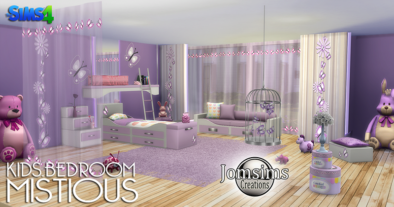 My sims 4 blog mistious bedroom set by jomsims