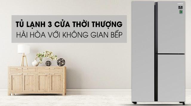 Tủ lạnh Samsung Inverter 634 lít RS63R5571SL/SV