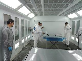 Reynasa imparte una formación interna en nuevas tecnologías de pintura
