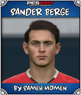 PES 2017 Faces Sander Berge by Sameh Momen
