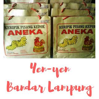 Pusat oleh-oleh Yenyen Bandar Lampung