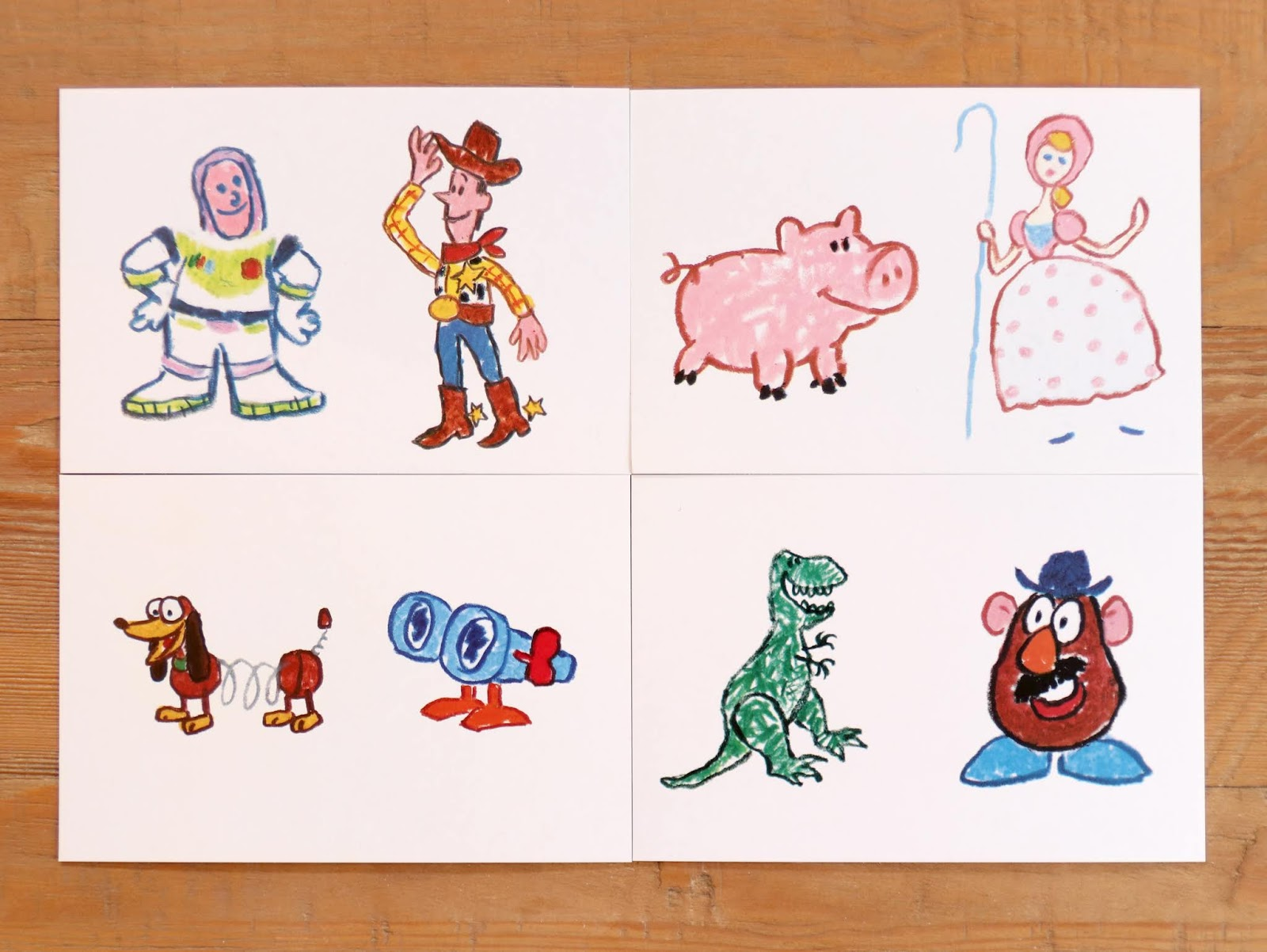 Toy Story Concept Art by Ralph Eggleston
