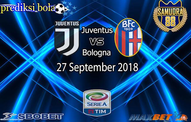 Prediksi Bola Terpercaya Liga Italia Juventus vs Bologna 27 September 2018