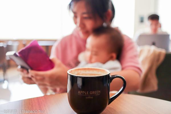 蘋果綠咖啡台中學府門市|多那之在興大旁的新品牌平價咖啡|寬敞舒適