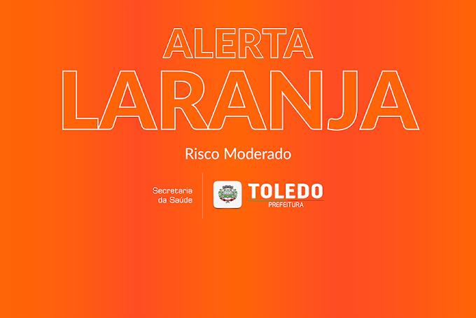 Com queda nos números, Toledo deve aderir bandeira Laranja em breve