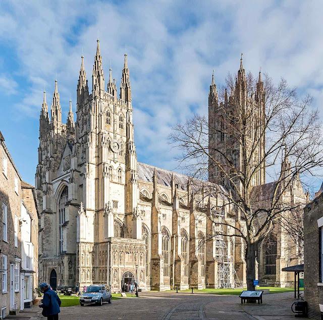Catedral de Canterbury, Grã-Bretanha.
