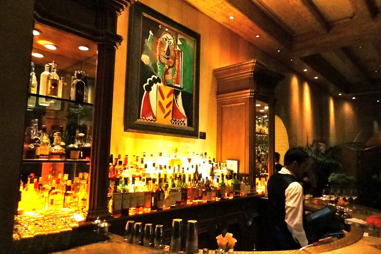 Picasso At Bellagio Las Vegas Dining In A Museum The