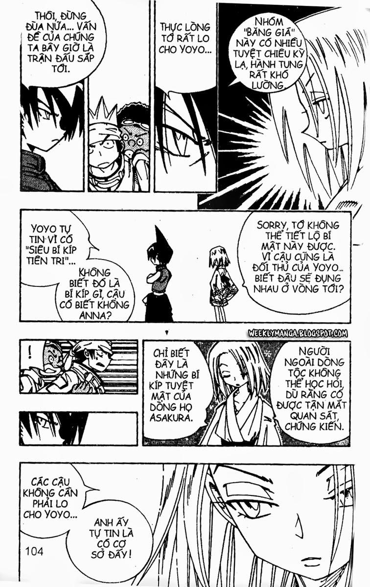 Shaman King [Vua pháp thuật] chap 128 trang 8
