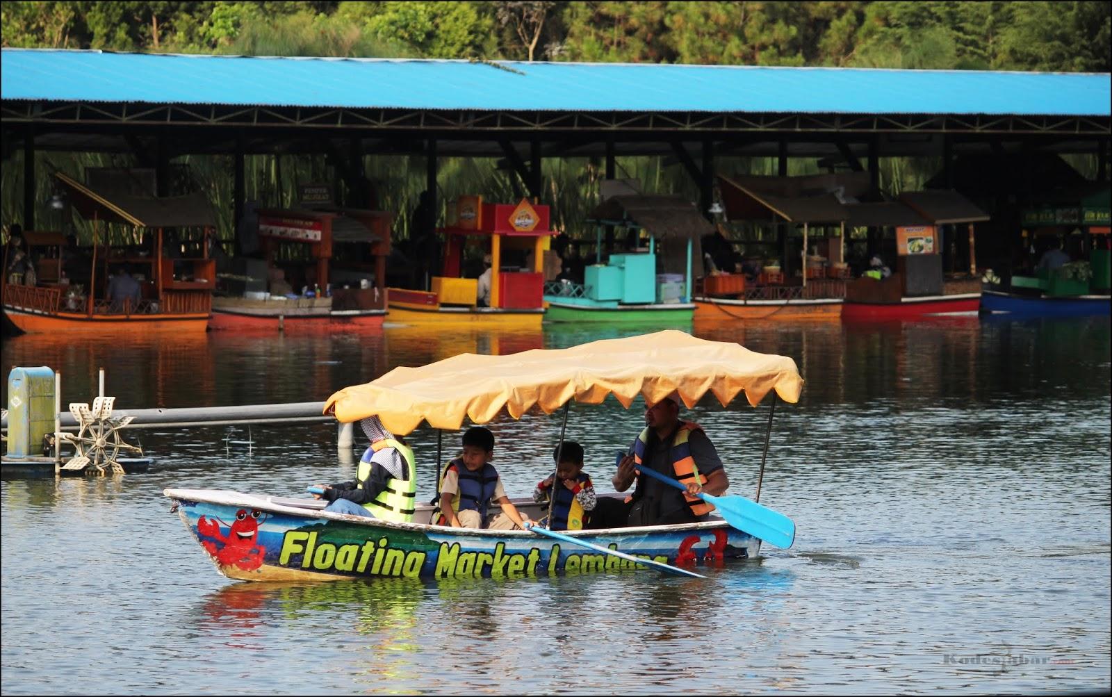 Floating Market Lembang, Tempat Wisata Paling Unik di Bandung