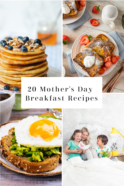 15 Mother's Day Breakfast & Brunch Ideas for every mother. Lemon Poppyseed Pancakes, Smoothie Bowls, Homemade Donuts, and more!