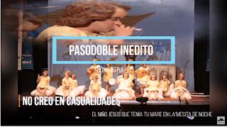 """👶Pasodoble INEDITO con LETRA """"No creo en casualidades"""". Chirigota """"El Niño Jesús que tenía tu mare..."""""""