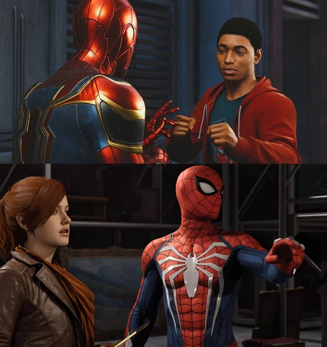 Differences in Spider-Man Miles Morales vs Spider-Man Remastered