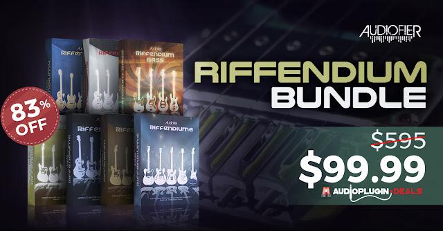 audiofier riffendium apd deals bundle