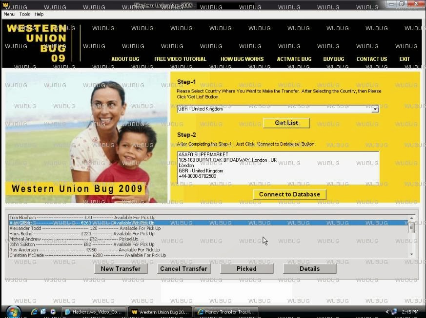 Western Union Hack Software