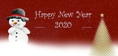 Happy New Year 2020 Snowman Photos
