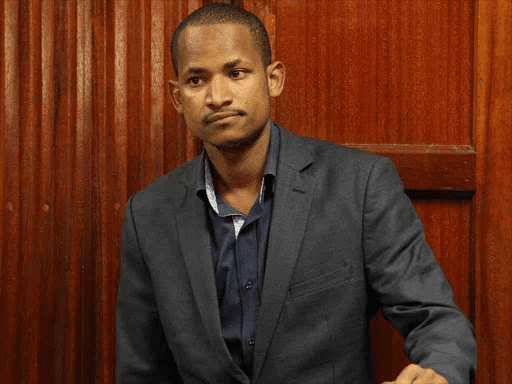 Embakasi East Babu Owino in court photos and video
