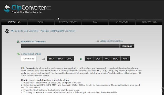 web based online video downloader