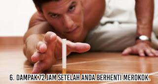 Dampak 72 jam setelah Anda berhenti merokok