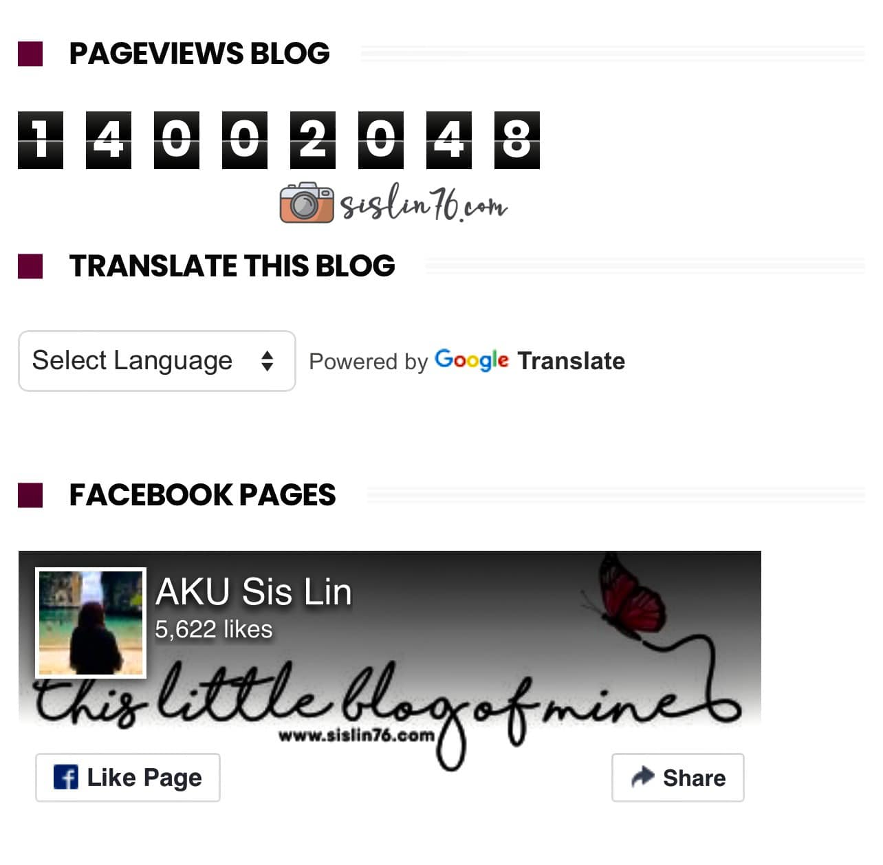 Pageviews Blog Aku Dah Masuk 14 Juta!