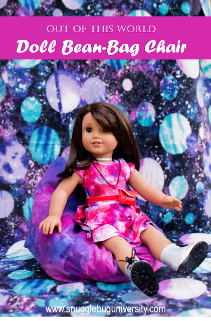 Out Of This World Doll Bean Bag Chair Its A Super Easy DIY