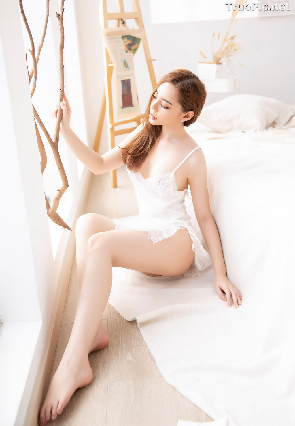 Image Vietnamese Model – Hot Beautiful Girls In White Collection #2 - TruePic.net - Picture-10