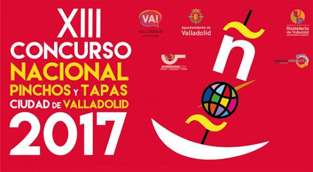 Concurso de pinchos de Valladolid 2017