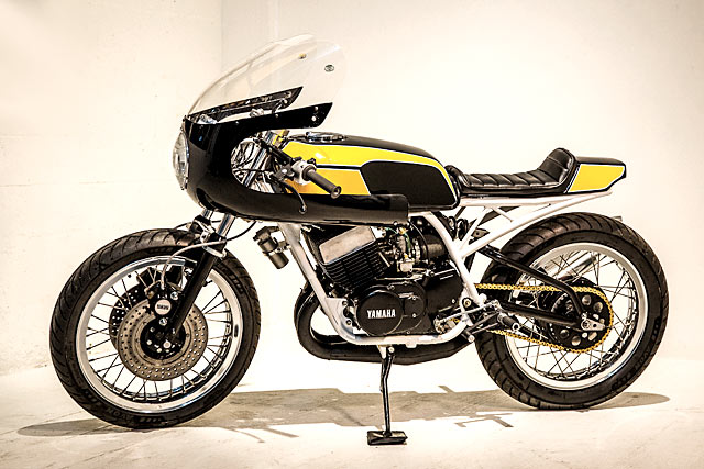 Yamaha RD400 By Enginethusiast Hell Kustom