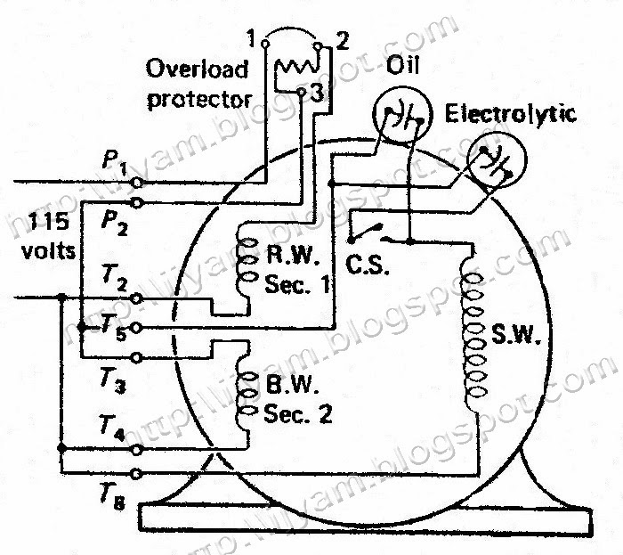 Single Phase Motor Wiring Diagram With Capacitor Leviton Decora 4 Way Switch A To Drum Page 2 Here Is The Site That Drawing From Figure 12 Electrical Control Circuit Schematic Of Two Value