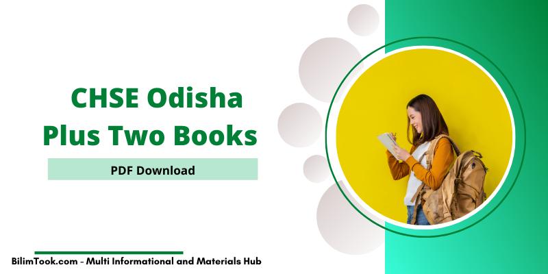 CHSE Odisha Plus Two Books PDF 2021, Odisha +2 Books PDF 2021