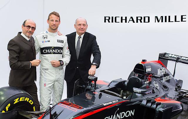 McLaren cambia TAG Heuer por Richard Mille