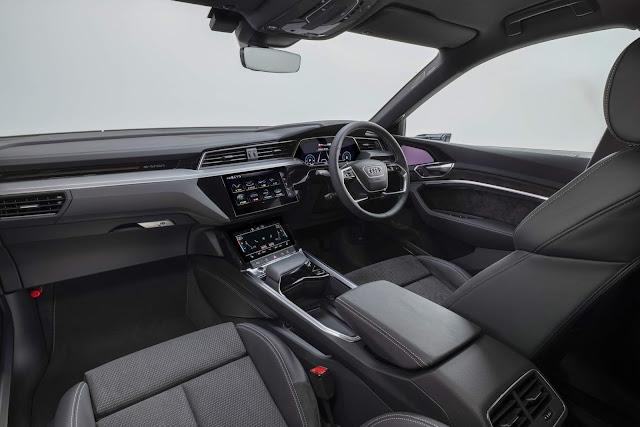 Audi e-tron Sportback elétrico chega ao Japão - fotos