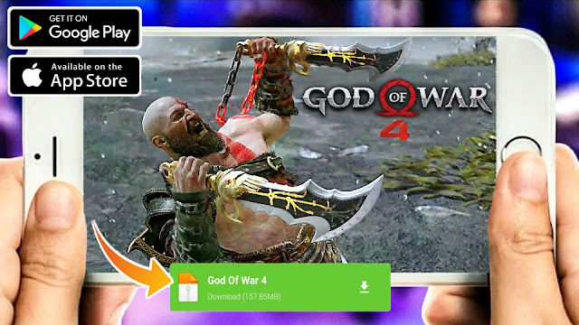 Download God Of War 4  On Android & iOS Offline [200MB] Best Graphics