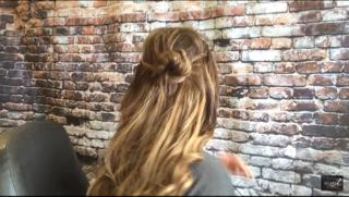 How To Do a Halo Braid Bun