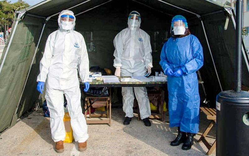 Δωρεάν rapid tests για κορωνοϊό έξω από το Πολυκοινωνικό Αλεξανδρούπολης