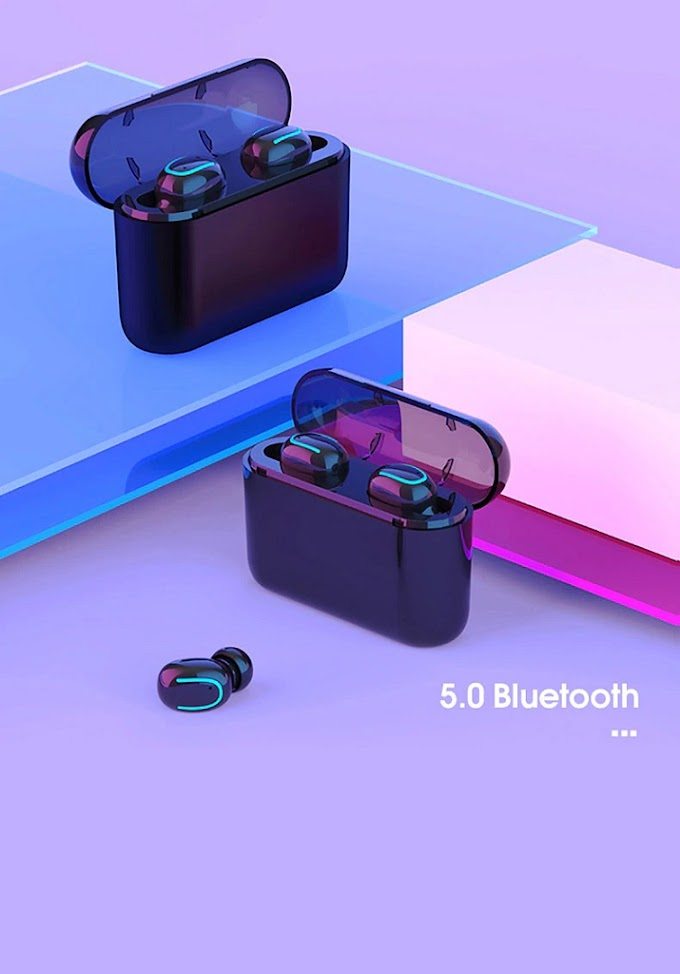 Bluetooth 5.0 Earphones TWS Mini Stealth Wireless Dual Talk Sports Headset Earphone High Quality Headphone Earbuds