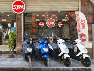 اسعار سكوتر SYM في الجزائر تحديث شهر جوان 2019
