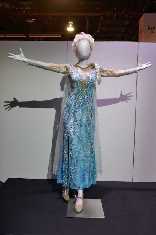 Elsa Frozen Broadway musical stage costume