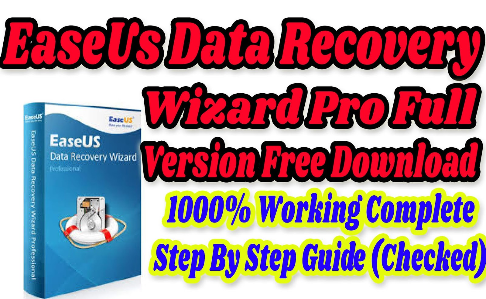 easeus data recovery wizard 12.0.0 license key