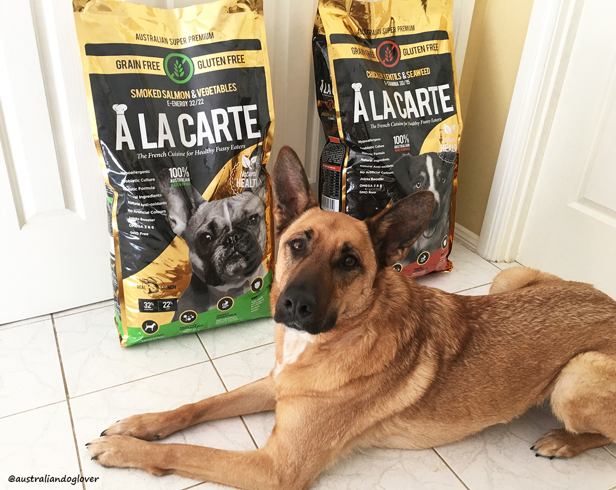 A La Carte Grain-Free Dog Food - Review | Australian Dog Lover | Dog Food Allergies Grain Free