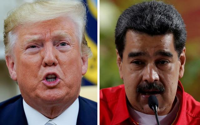 EUA recompensa de 15 milhões de dólares pela prisão de Maduro