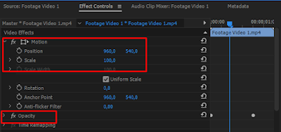 Effect Adobe Premiere