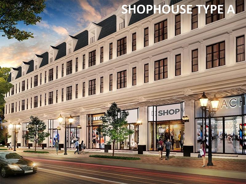 Mẫu nhà Shophouse A